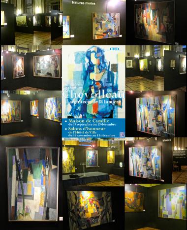 EXPOSITION JEAN CHEVOLLEAU PEINTRE  «Architecte de la lumière».