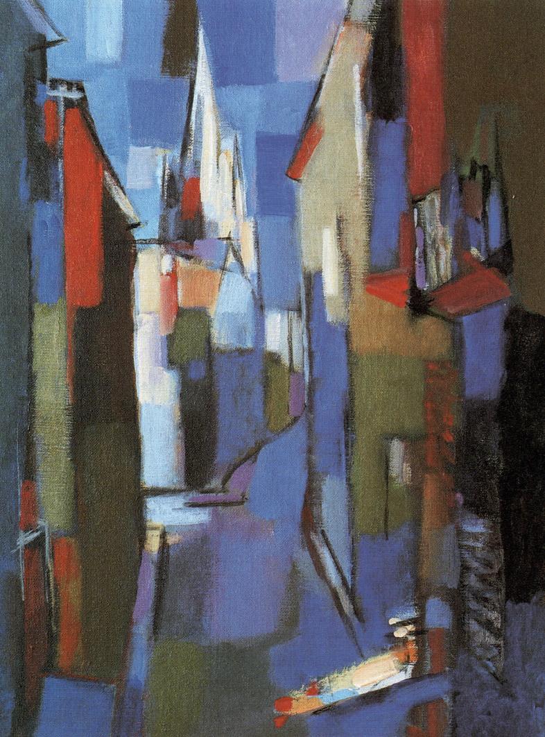 La rue du Pain Fallourd - 1987